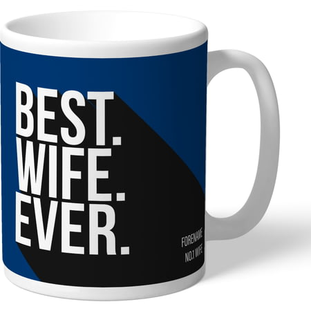 Personalised Bolton Wanderers Best Wife Ever Mug