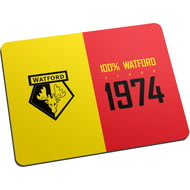 Personalised Watford FC 100 Percent Mouse Mat