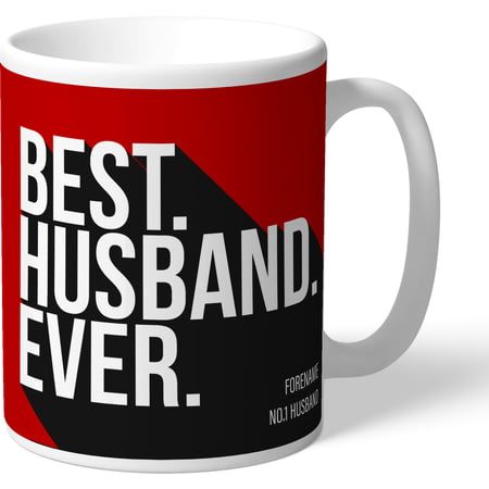 Personalised Brentford Best Husband Ever Mug