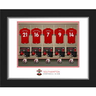 Personalised Southampton FC Dressing Room Shirts Photo Folder