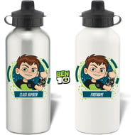 Personalised Ben 10 Class Aluminium Sports Water Bottle