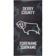 Personalised Derby County Crest Bath Towel - 80cm X 160cm