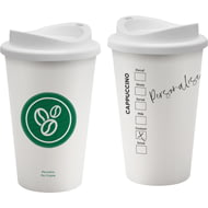 Personalised Coffeehouse Seattle Style Reusable Coffee Cup