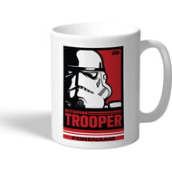 Personalised Star Wars Storm Trooper Pop Art Mug