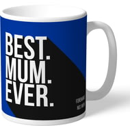 Personalised Brighton & Hove Albion FC Best Mum Ever Mug