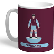 Personalised Burnley FC Player Figure Mug
