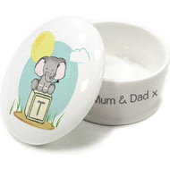 Personalised Elephant Safari Trinket Box