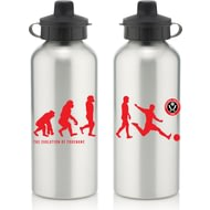 Personalised Sheffield United FC Player Evolution Aluminium Sports Water Bottle