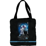 Personalised Star Wars R2-D2 Last Jedi Spray Paint Tote Bag
