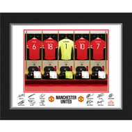 Personalised Manchester United FC Goalkeeper Dressing Room Shirts Photo Folder