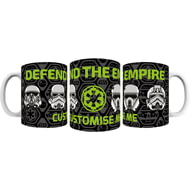 "Personalised Star Wars Rogue One ""Defend The Empire"" Mug"