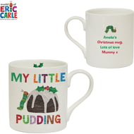 Personalised Very Hungry Caterpillar My Little Pudding Balmoral Mug