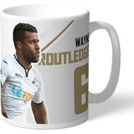 Personalised Swansea City AFC Routledge Autograph Mug