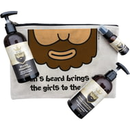 Personalised All The Girls To The Yard Beard Grooming Kit Gift Set