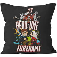 Personalised Ben 10 Hero Time Cushion - 45x45cm
