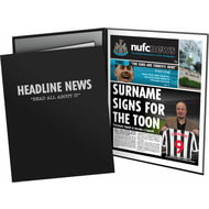 Personalised Newcastle United FC News Folder