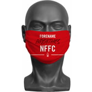 Personalised Nottingham Forest FC Breathes Adult Face Mask