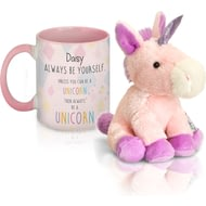Personalised Unicorn Mug & Plush