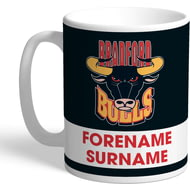 Personalised Bradford Bulls Eat Sleep Drink Mug