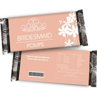 Personalised Bridesmaid Chocolate Bar