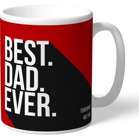 Personalised Brentford Best Dad Ever Mug