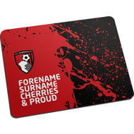 Personalised AFC Bournemouth Proud Mouse Mat