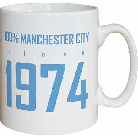 Personalised Manchester City FC 100 Percent Mug