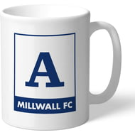 Personalised Millwall Monogram Mug