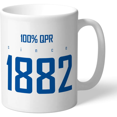 Personalised Queens Park Rangers FC 100 Percent Mug