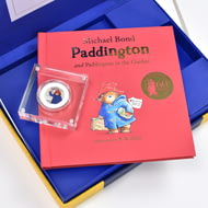 Paddington Bear Royal Mint Collection Box - Silver