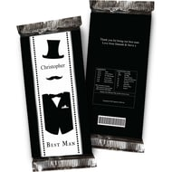 Personalised Best Man Chocolate Bar