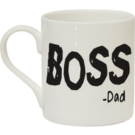 Personalised Boss & Mini Boss Duo Mug Set