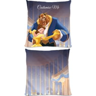 Personalised Disney Beauty And The Beast 'Ballroom' Cushion - 45x45cm