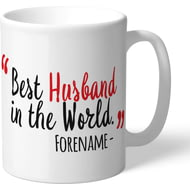 Personalised Liverpool FC Best Husband In The World Mug