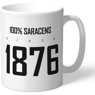 Personalised Saracens 100 Percent Mug