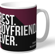 Personalised Burnley Best Boyfriend Ever Mug