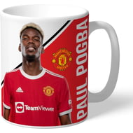 Personalised Manchester United FC Pogba Autograph Mug
