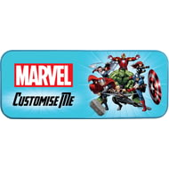 Personalised Marvel Avengers Group Pencil Tin