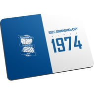 Personalised Birmingham City FC 100 Percent Mouse Mat