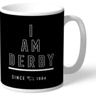 Personalised Derby County I Am Mug