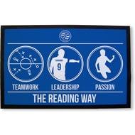 Personalised Reading FC Way Rubber Backed Door Mat