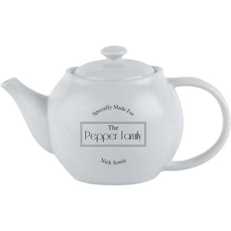 Personalised Specially Made For Ceramic Teapot