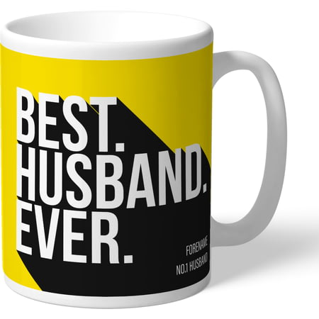 Personalised Watford Best Husband Ever Mug