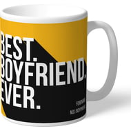 Personalised Wolves FC Best Boyfriend Ever Mug