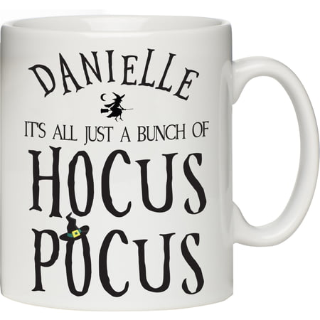 Personalised Halloween Hocus Pocus Ceramic Mug