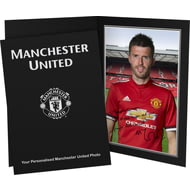 Personalised Manchester United FC Carrick Autograph Photo Folder