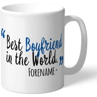 Personalised Reading Best Boyfriend In The World Mug