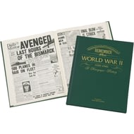 Personalised WW2 Book Newspaper Book