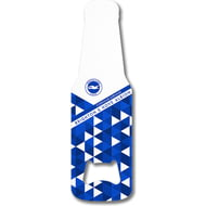 Personalised Brighton & Hove Albion FC Patterned Bottle Shaped Bottle Opener