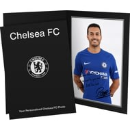 Personalised Chelsea FC Pedro Autograph Photo Folder